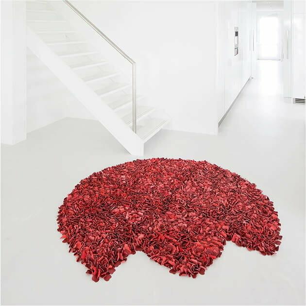 vloerkleed-rood-leer-manonjuliette